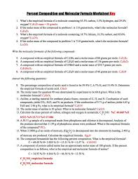 comp emp molec formula ms mclarty u0027s classes