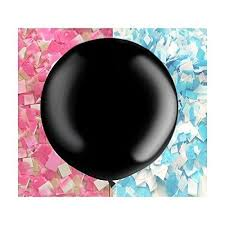 gender reveal balloons 36 black gender reveal balloon reveal party balloon