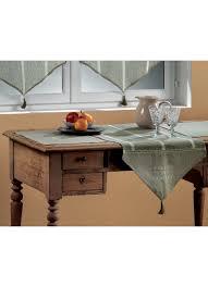 chemin de lit en lin chemin de table en lin esprit de famille lin homemaison
