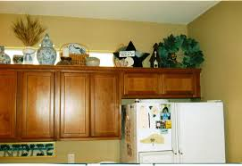 Top Of Kitchen Cabinet Ideas Simple Decorating Above Kitchen Cabinets Ideas Emerson Design
