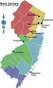 Newark Map Us New Jersey Map County Population Density Maps U0026 Cartographic