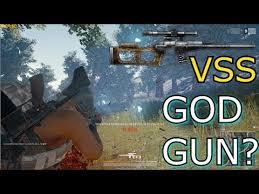 pubg vss pubg vss new god gun youtube