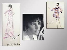 fashion history up for local auction featuring elizabeth taylor