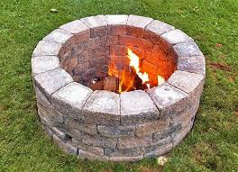 build your own outdoor fire pit u2013 yates home pro