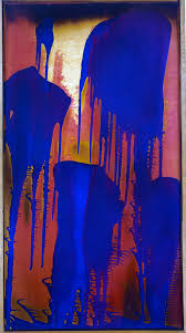 Color Painting by Untitled Fire Color Painting C 1962 Yves Klein Wikiart Org