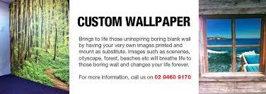 custom wallpaper digital printing australia