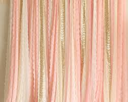 wedding backdrop etsy ribbon backdrop etsy