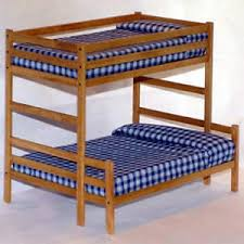 Wood Plans Bunk Bed by Twin Over Full Bunk Bed Woodworking Plans Patterns Ebay