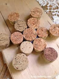 classic diy wine cork snowflake ornament happy mothering