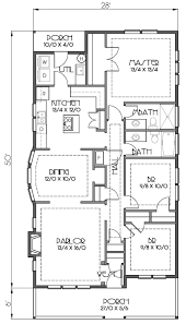 Bungalo House Plans Bungalow Style House Plan 3 Beds 2 Baths 1353 Sq Ft Plan 423 55