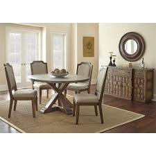 steve silver wy500s wayland side chair in driftwood set of 2