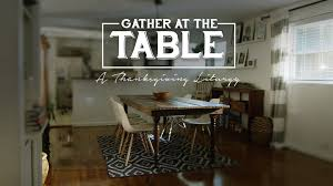 thanksgiving service idea gather at the table journey box media