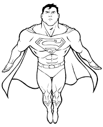 89 coloring pages superman free superman coloring image