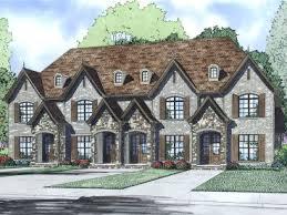 Multi Family House Plans Triplex Page 2 Of 4 Multi Family House Plans Triplexes U0026 Townhouses