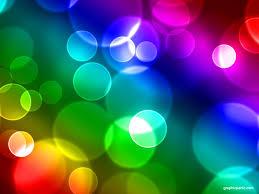 keynote backgrounds rainbow bokeh background powerpoint