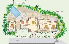 Vacation House Floor Plans Family Vacation Rental St John Virgin Islands Oceana Vill St