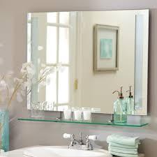 bathroom frameless mirrors decorating a frameless bathroom mirror bathroom mirrors