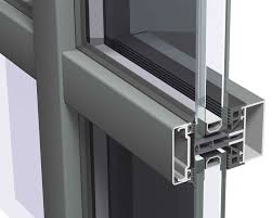 structural glass curtain wall aluminum and glass cw 50
