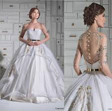 bridal gowns online cheap new arrival discount 2015 new chrystelle atallah luxury