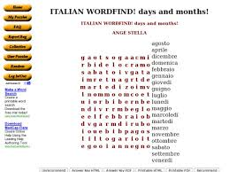 italian word find 6th 8th grade worksheet lesson planet
