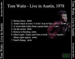 tom waits bootleg cover art archive