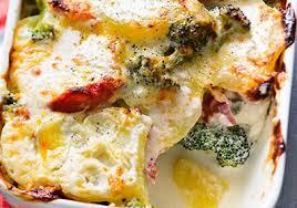 cuisiner les brocolis gratin de pommes de terre et brocoli au chorizo recettes de