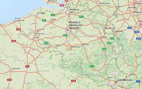 map of begium belgium map software for your gps