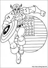captain america coloring pages coloring book