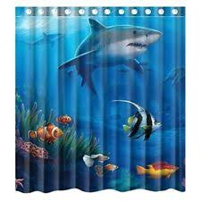 Shower Curtains With Fish Theme Fish Themed Shower Curtain Shower Curtain Rod