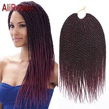 Braid Hair Extensions by 30strands 14inch Pack Crochet Braids Best Synthetic Braiding Hair