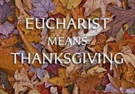 eucharist means thanksgiving fish families integrating