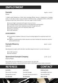 Example Of Australian Resume 28 Forklift Resume Sample Australia Student Entry Level