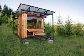 Modern Tiny House Modern Tiny House The Watershed House Oregon Usa