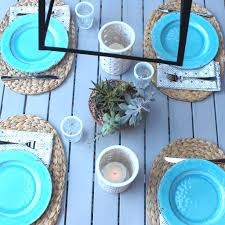 tips for creating an outdoor dining area on a budget popsugar home