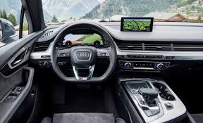 audi suv q7 price 2017 audi q7 pricing and features detailed car and driver