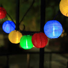 solar globe lights garden tanbaby lantern solar string lights outdoor globe lights 5m 20 led