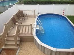semi inground pools u2014 brothers 3 pools