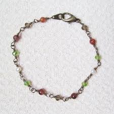 chain link bracelet patterns images The wired tree bracelet tutorial how to create an interlocked JPG