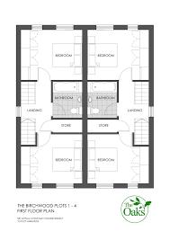wonderful 4 bedroom semi detached house plans pictures best idea