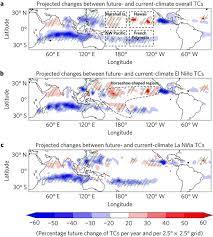 bureau de change dans le 95 projected increase in el niño driven tropical cyclone frequency in