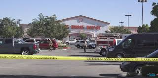 reddig home depot black friday breaking man shot dead outside home depot in victorville video