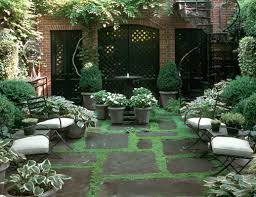 townhouse garden on perry street projects sawyer berson