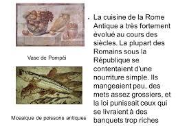 cuisine de la rome antique l alimentation de la rome antique ppt télécharger