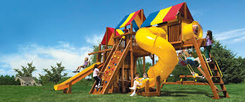 Backyard Playground Slides by Rainbow Play Systems Of Iowa Iowa U0027s Playground Headquarters
