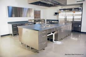 Outdoor Stainless Steel Kitchen - kitchen white cabinets with stainless steel appliances outdoor