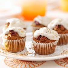 Best Pumpkin Cake Mix by Pumpkin Pecan Bites Recipe Taste Of Home