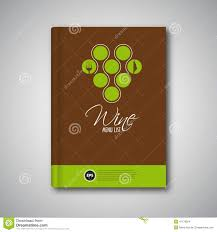 wine brochure template wine brochure cover stock vector image of road presentation