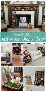 fall oween home tour and hop