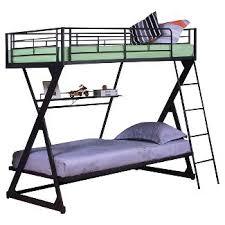 Bunk Bed With Shelves Dorm Loft Bed Shelf Target