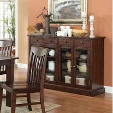 glass door sideboards u0026 buffets you u0027ll love wayfair